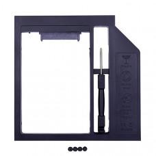 Переходник Optibay miniSATA/SATA 12.7 мм