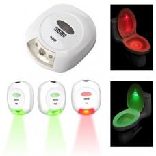 Автоматическая подсветка для туалета
