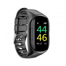 Смарт-часы с Bluetooth наушниками LEMFO M1