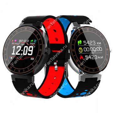 Фитнес часы (смарт браслет) Beseneur L8 с контролем сердечного ритма и давления