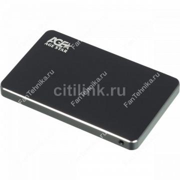 Внешний корпус для HDD/SSD AGESTAR 3UB2AX2C, черный