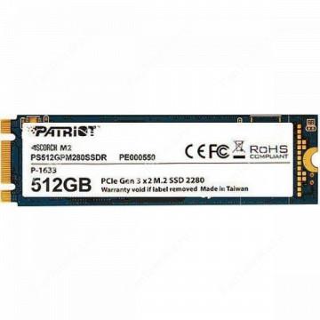 SSD накопитель PATRIOT Scorch PS512GPM280SSDR 512Гб