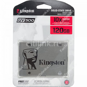 SSD накопитель KINGSTON UV500 SUV500/120G 120Гб