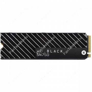 SSD накопитель WD Black WDS100T3XHC 1Тб