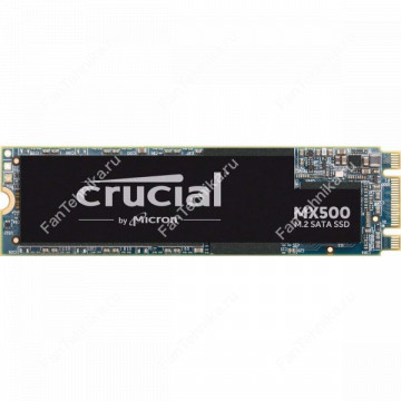 SSD накопитель CRUCIAL MX500 CT250MX500SSD4N 250Гб