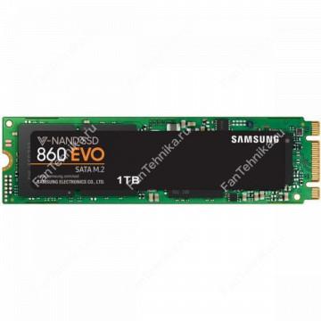 SSD накопитель SAMSUNG 860 EVO MZ-N6E1T0BW 1Тб