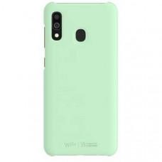 Чехол (клип-кейс) SAMSUNG WITS Premium Hard Case, для Samsung Galaxy A30, мятный