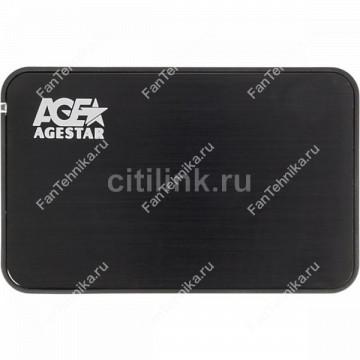 Внешний корпус для HDD/SSD AGESTAR 3UB2A8-6G, черный
