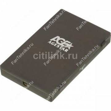 Внешний корпус для HDD/SSD AGESTAR SUBCP1, черный