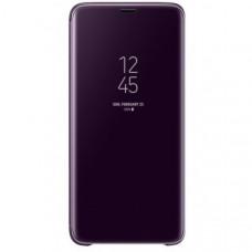 Чехол (флип-кейс) SAMSUNG Clear View Standing, для Samsung Galaxy S9+, фиолетовый