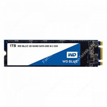 SSD накопитель WD Blue WDS100T2B0B 1Тб
