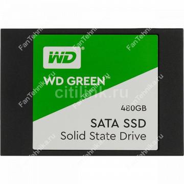 SSD накопитель WD Green WDS480G2G0A 480Гб