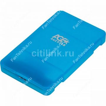 Внешний корпус для HDD/SSD AGESTAR 3UBCP3, синий
