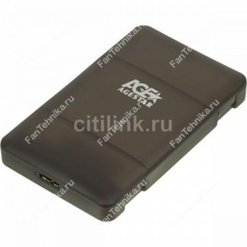 Внешний корпус для HDD/SSD AGESTAR 3UBCP3, черный