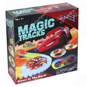 Волшебная трасса Magic Tracks ТАЧКИ, 166 деталей