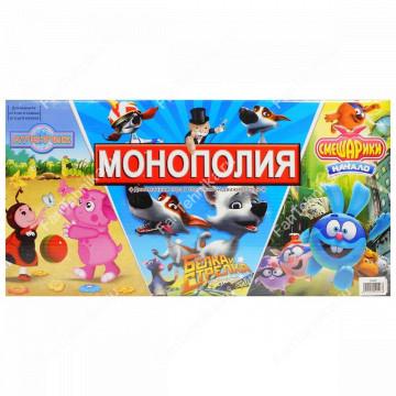Настольная игра Монополия Белка и Стрелка арт. 2046R