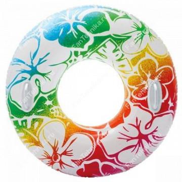 Спасательный круг для плавания « Тропическое лето»