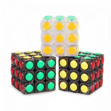 Кубик Рубика Magic Cube цветной 3х3х3