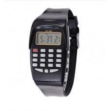 Электронные наручные часы со встроенным калькулятором