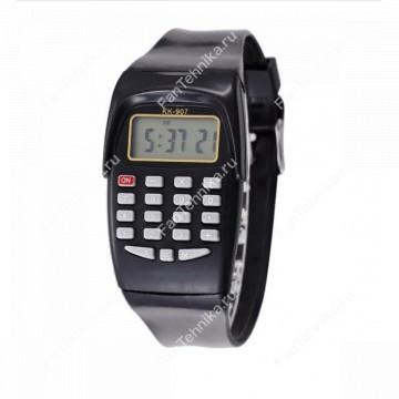 Электронные наручные часы со встроенным 8-разрядным калькулятором