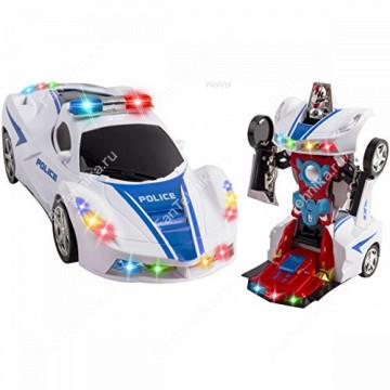 Робот-трансформер 2 в 1 Полицейская машина