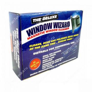 Магнитная щетка Window Wizard для мытья стеклопакетов