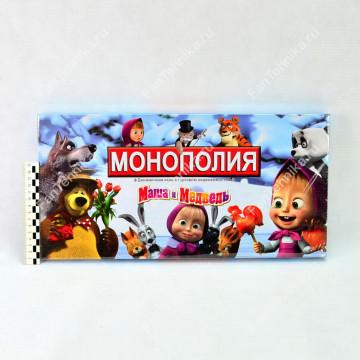 Настольная игра Монополия Маша и Медведь арт. 2046R