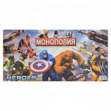 Настольная игра Монополия Heroes арт.2058R
