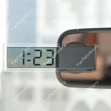 Прозрачные часы в салон автомобиля