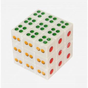 Кубик Рубика 3×3 Домино