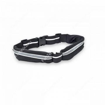Эластичный ремень-кошелек с двумя отделениями Go Belt