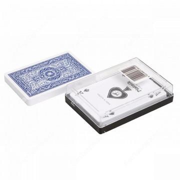Пластиковые игральные карты Poker, 54 шт