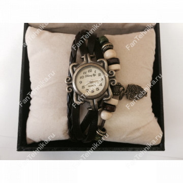 Винтажные женские часы - браслет