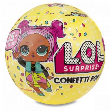 Кукла-сюрприз LOL Конфетти 3 серия