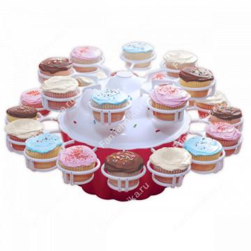 Подставка-карусель для кексов CUPCAKE MERRY GO ROUND