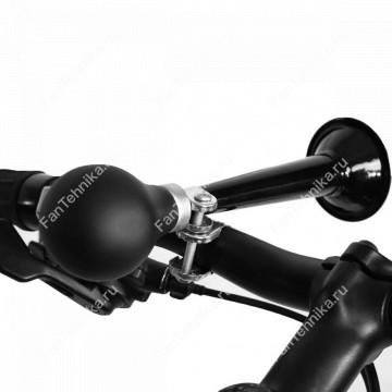 Винтажный клаксон для велосипеда с черной грушей, 20 см