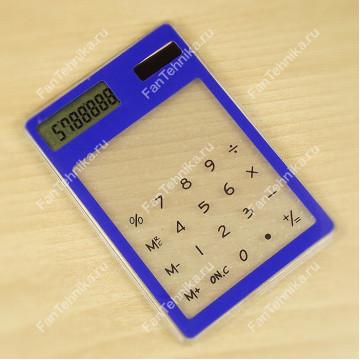 Ультратонкий карманный сенсорный 8-разрядный калькулятор