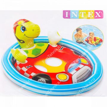 Надувной круг с трусиками Животные INTEX 59570