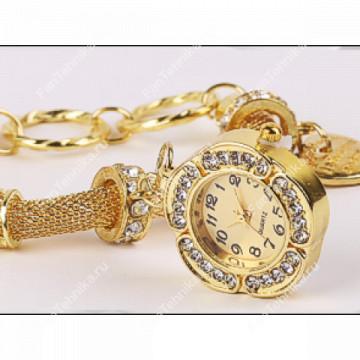 Часы-подвеска с браслетом в стиле Pandora (Реплика)