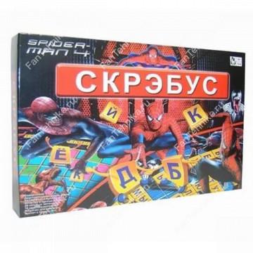 Игра настольная Скрэбус Человек Паук