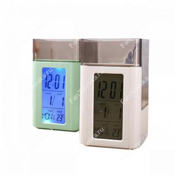 Настольные часы-органайзер с голосовым управлением 3813