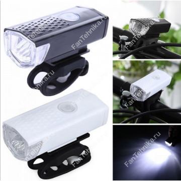 Передний фонарь для велосипеда или самоката USB