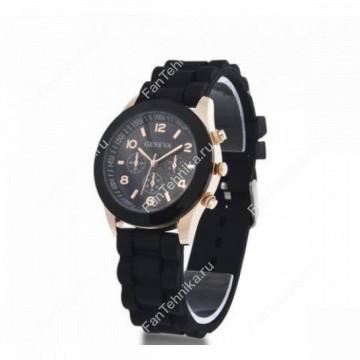 Часы женские силиконовые Geneva кварцевые