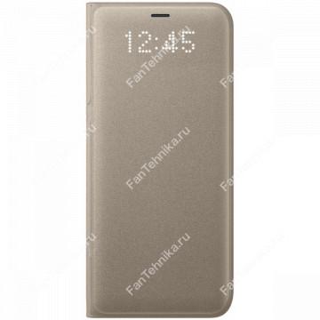 Samsung EF-NG955PFEGRU LED View Cover Gold для Samsung Galaxy S8 Plus