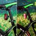 Задний велосипедный фонарь 2 LED