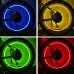"""Светящиеся колпачки """"Алмаз"""" на ниппель для автомобиля, мотоцикла, скутера, мопеда, велосипеда (2 штуки / комплект)"""