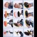 Набор полировочных насадок для дрели (8 штук / комплект)