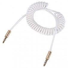 Аудио кабель 3,5 мм (cпиральный)