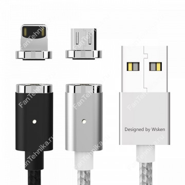 Магнитный USB-кабель для телефона (iPhone, Android)