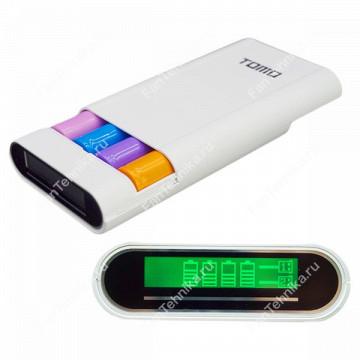 Зарядное устройство Tomo V8-4 с LCD экраном
